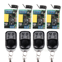 Free Shipping AC 220V 1 CH Relay Mini Receiver 10A Remote Switch Input AC220V Wireless Switch