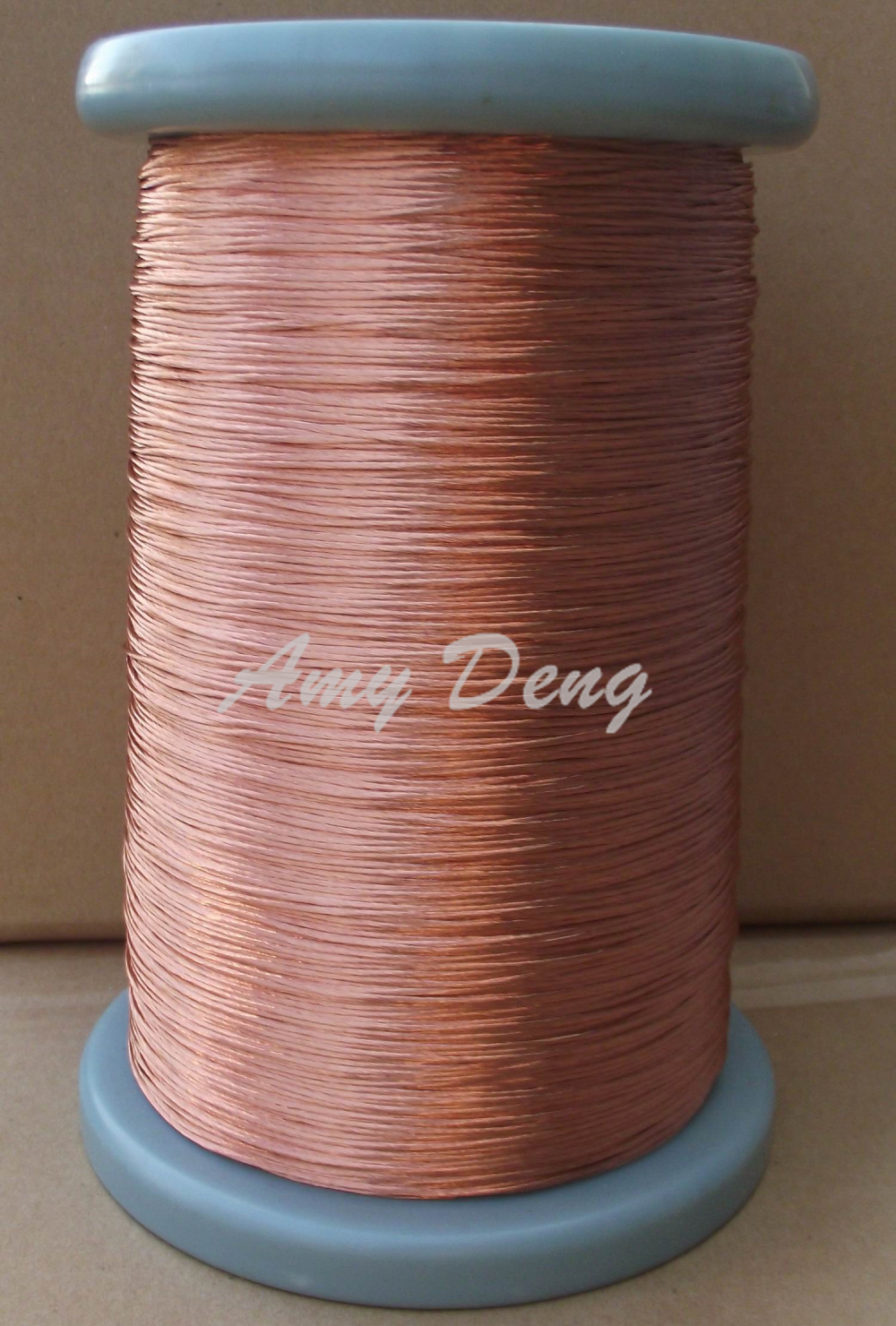 20 Meters/lot 0.1X200 Strands Of Polyurethane Paint Coated Round Copper Stranded Wire Twisted Pair Wire Twisted Pair Liz Line