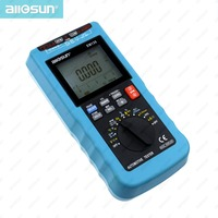 Digital Automotive Multimeter 20A ACA/DCA LCD Autorange Automotive Tester O2-sensor Temp.RPM Dwell Angle all-sun EM135 Modern