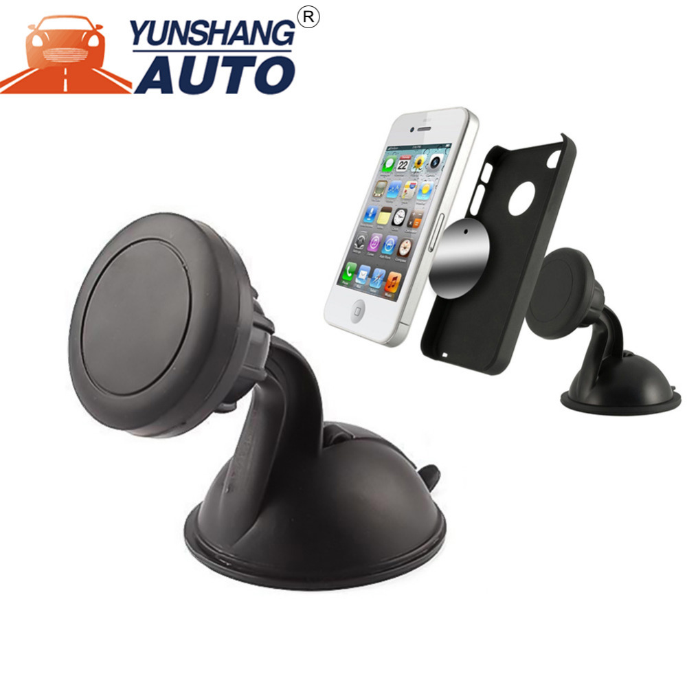 Dashboard Mount Dashboard and Windshield Magnetic Universal Car Mount Holder for Smartphones including iPhone 7, 6, 6S Plus, Gal