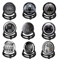 for Jeep wrangler accessories 7 Inch Round Mount Bracket Mounting Ring Brackets 7 LED Headlight