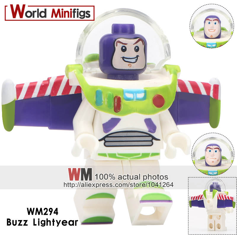 Single WM230A Ronald Red Round Hair Super Heroes Building Blocks Action s Kids Gifts Toys(China)