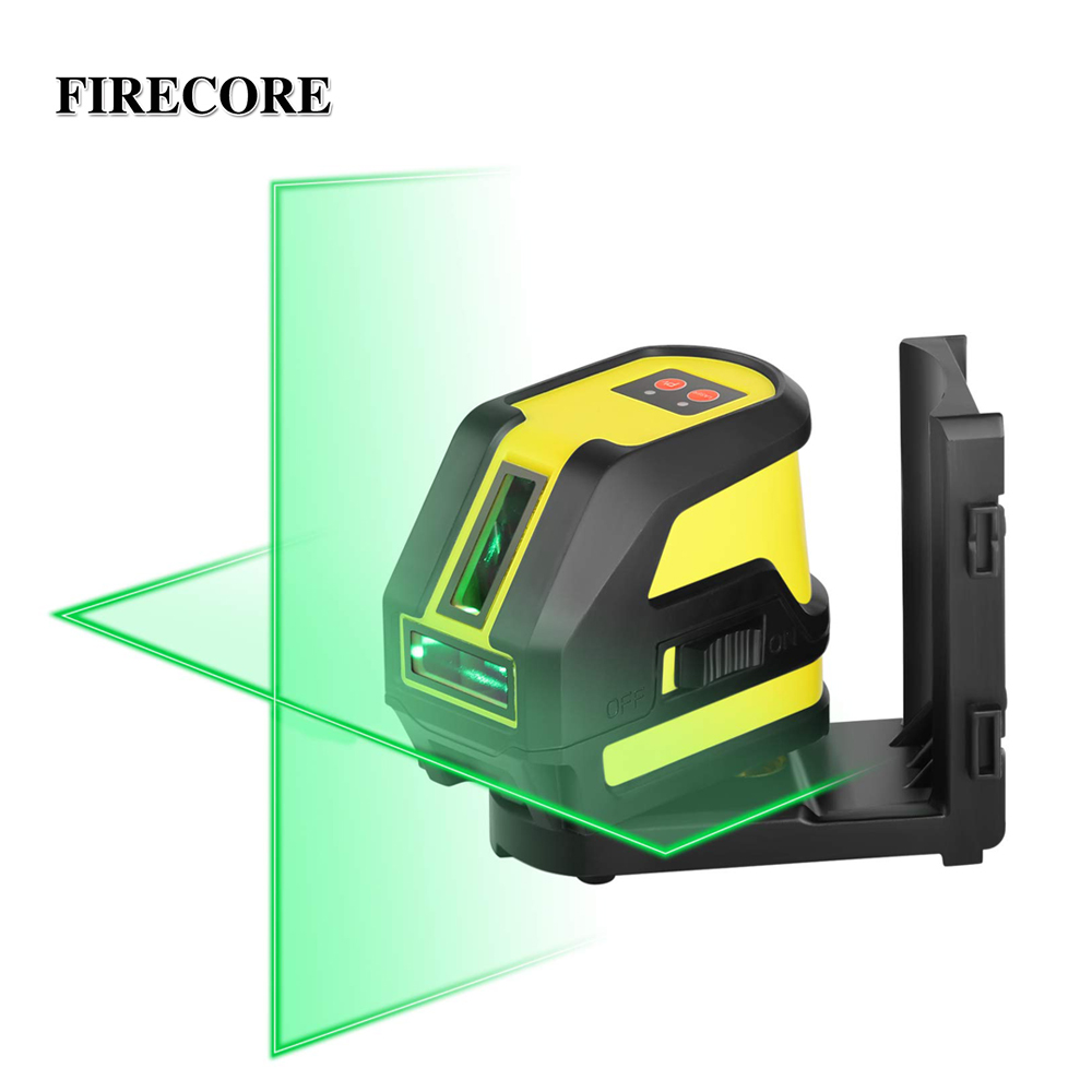 FIRECORE F118G 2 Lines Green Laser Level Self Leveling Horizontal And Vertical Cross Laser Line