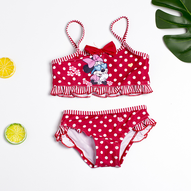 FINAL SALE!!! Two-piece Girls Swimwear Child girls Bikini set Children Swimsuit Biquini Infantil-H042/H043