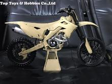 Hot Figure Accessory 1/6 Repainted version 1:6 Motorcycle model Off-road motorcycle 12-inch Doll vehicle sand color