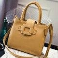 Big bags 2017 fashion bag brief buckle formal handbag messenger bag women's shoulder bags