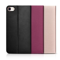 XOOMZ Brand Luxury Ultra Thin Drizzle Line Pattern PU Leather Folio Case Stand Cover With Card