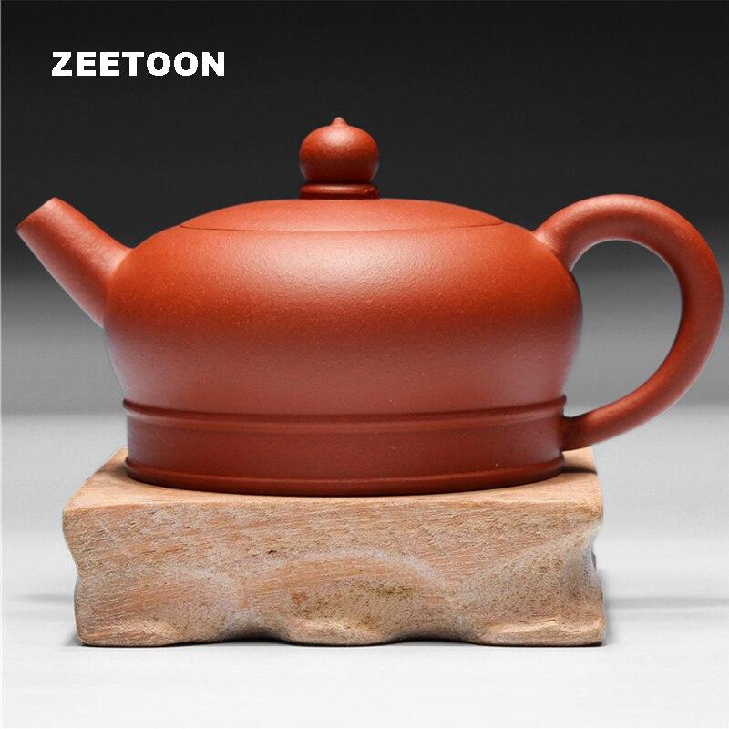 180cc Authentique Yixing Théière Chinois Céramique Santé Kung Fu Thé ensemble Argile Pourpre Main Yixing Qing Shui Boue Xishi Pot bouilloire