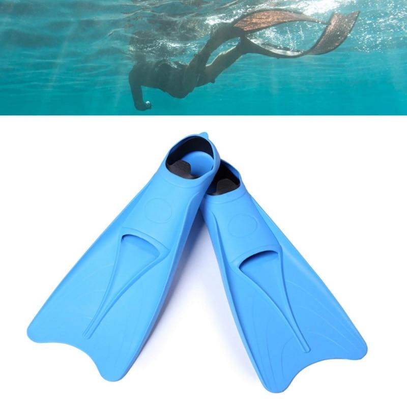 Palmes d'entraînement professionnel plongée natation submersibles palmes chaussures flexibles palmes silicone M-XL de plongée en apnée