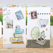Buy 3d business cards and get free shipping on aliexpress free ship1lot24pc stamp message card blessing 3d business card reheart Gallery