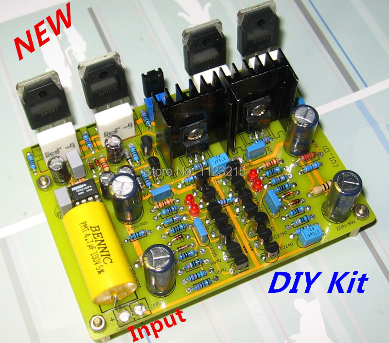 Diy kit differential circuit reference ksa100 discrete tube diy kit mono amp of hifi adjustable class a marantz ma 9s2 reference circuit link solutioingenieria Choice Image
