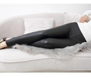 High Waist   Leather Leggings   Fitness PU Leggings   Sexy Push Up Slim Pants 2