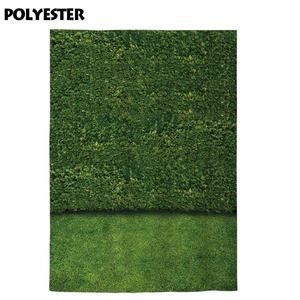 Image 2 - Allenjoy צילום תפאורות טבע ירוק עלים קיר דשא דיוקן נוף רקע צילום שיחת וידאו תא צילום