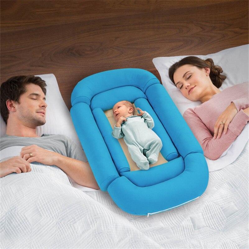 Démontable Bébé Nid Lit ou Enfant Taille Nid Portable Voyage Berceau Co dormeur Babynest pour les Nouveau-nés et Les Tout-petits Moïse Panier