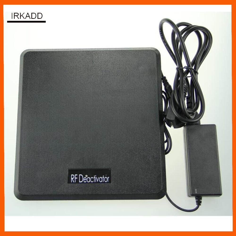 Detector da etiqueta da segurança do deactivator da etiqueta do sistema do rf 8.2 mhz eas com alarme sadio e claro 110 v-250 v