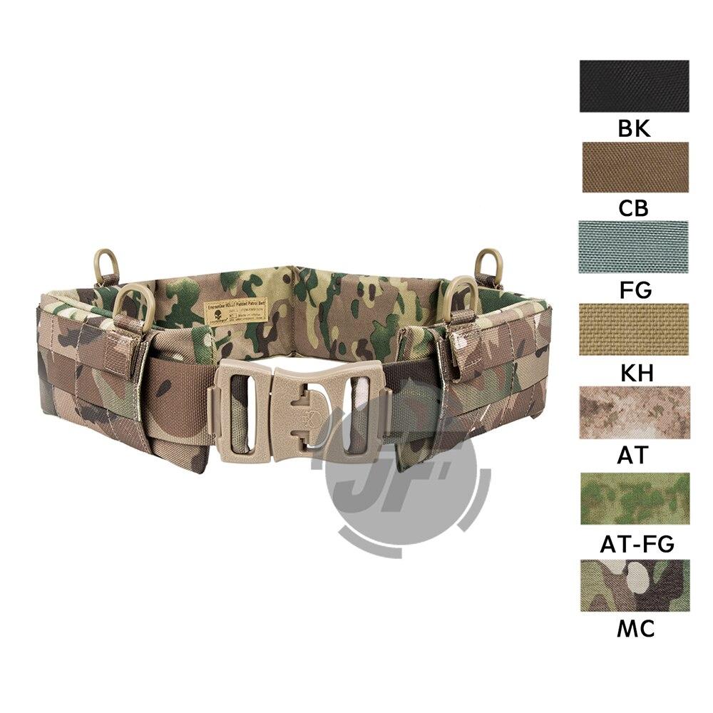 Emersongear Tactical MOLLE / PALS Style Padded Patrol Battle Belt Heavy Duty Belt