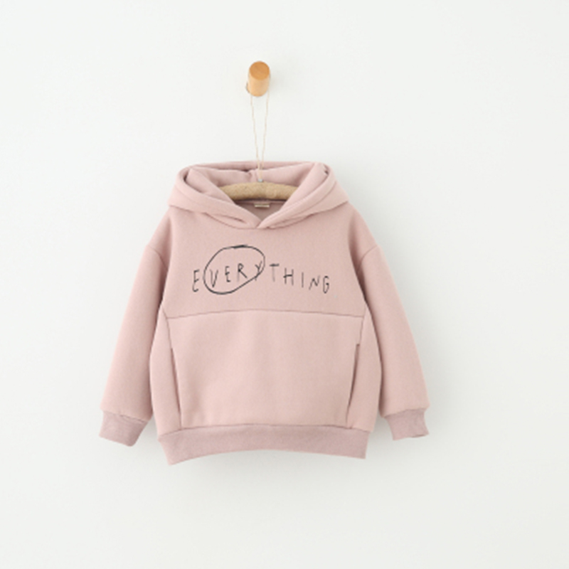 New Sale Girls Spring Hoodies Casual Letter Sweatshirt Kids Sportwear Coat Girls School Dressing Warm Clothes Outwear Hoodies