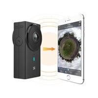 Панорамная камера YI 360 VR 360 градусная съемка Функция голосового управления Максимальное разрешение фотосъемки: 5760×2880