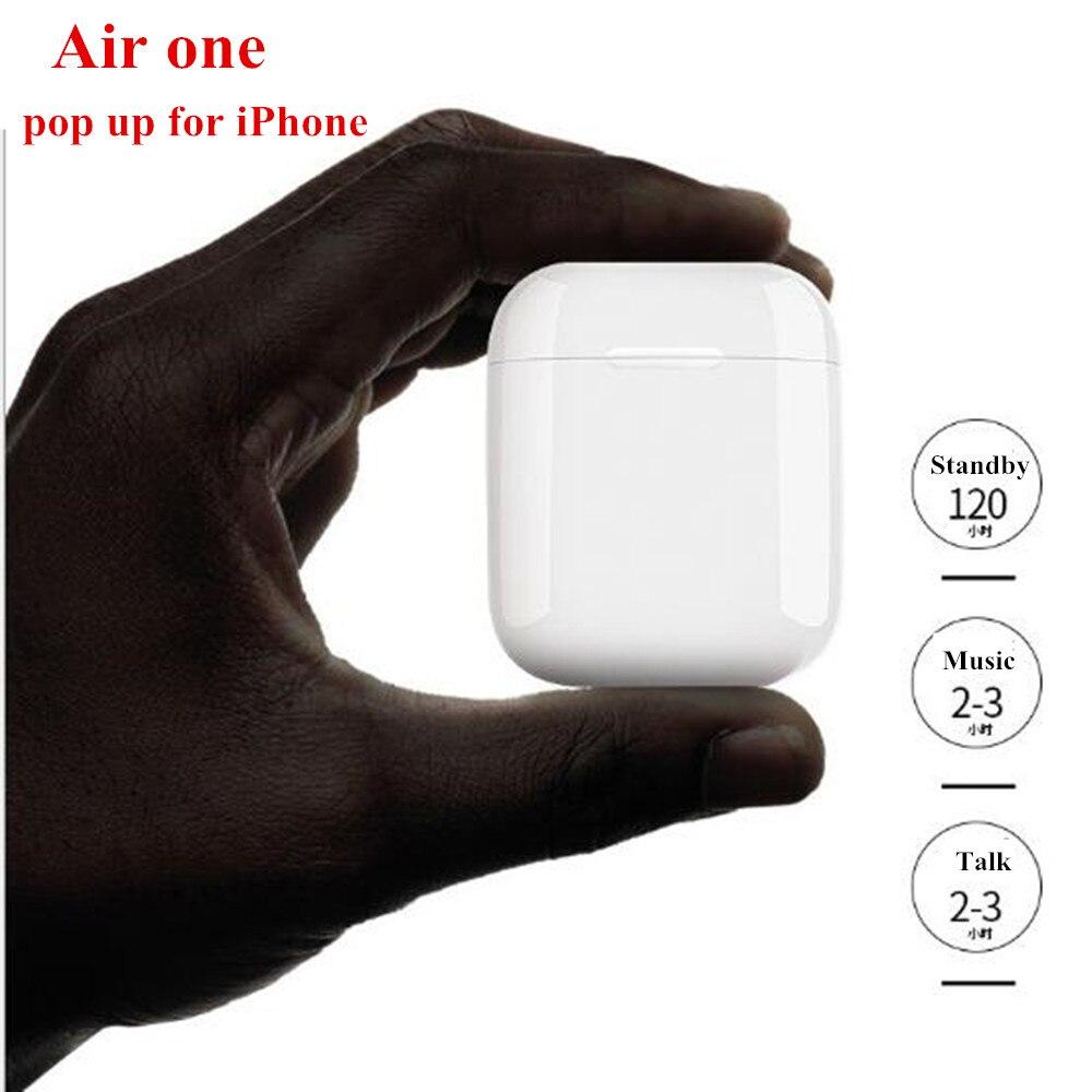 Haute qualité Air One TWS écouteurs soutien sans fil charge PK toutes les répliques écouteurs i10 i20 i30 i60 XY Pods Air Plus Air Max