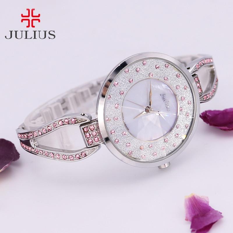 Crystal Rhinestone Shell Lady Women's Watch Japan Quartz Hours Clock - Women's Watches - Photo 2