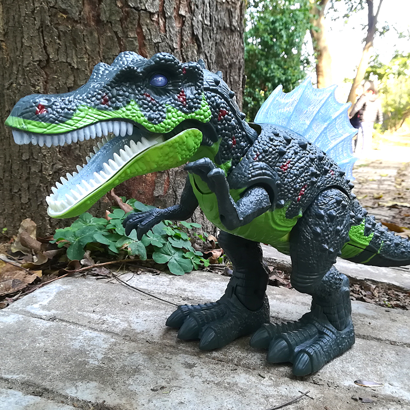 Electric Interactive Toys: Talking And Walking Dinosaur & Large Dinosaur World Toy
