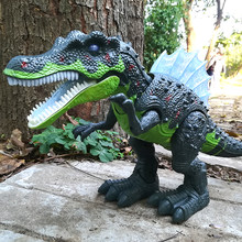 Electric interactive toys: talking and walking Dinosaur & Large Dinosaur World Toy(China)