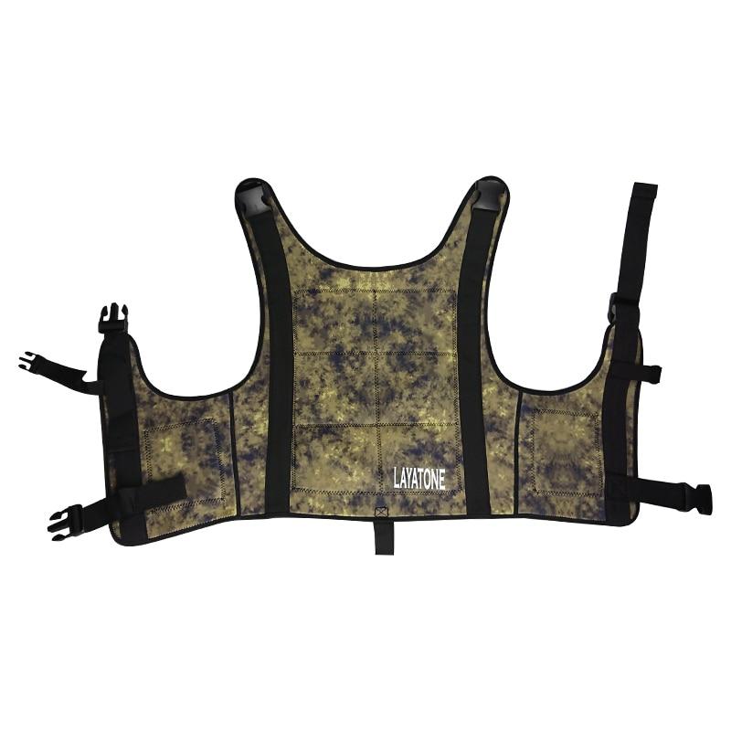 spearfishing underwatr fishing wetsuit weight vest drop vest load vest knife 01