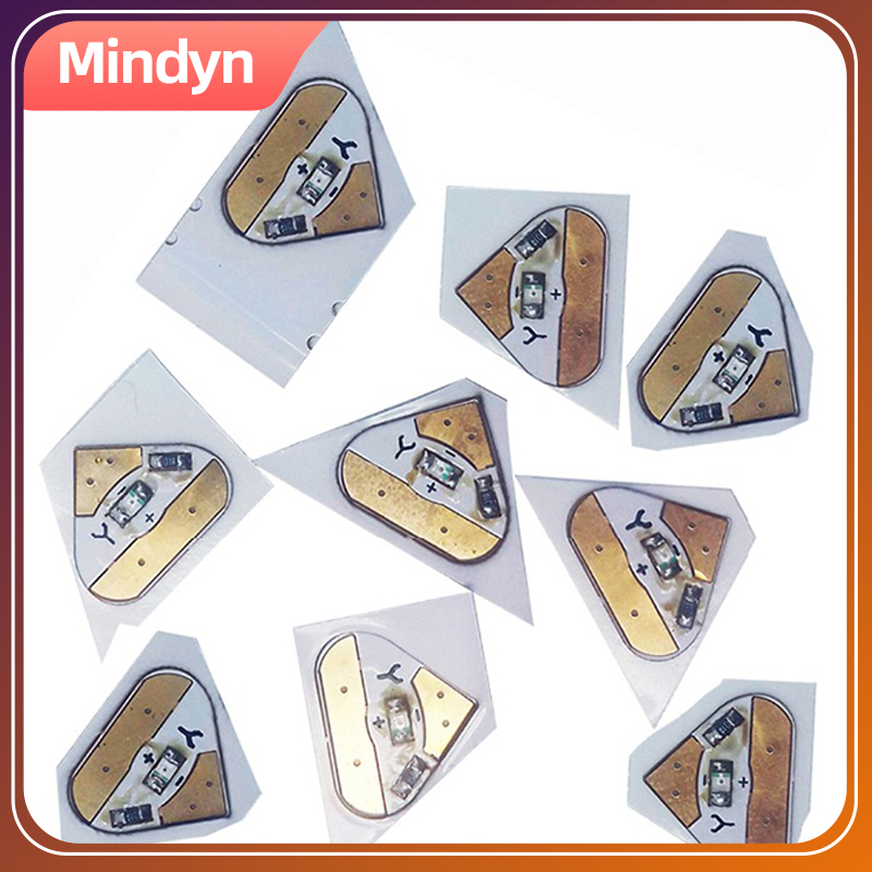 12 Pcs Electronic Color LED Stickers Children DIY Handmade Painting Education Circuit Toy Handcrafted Puzzle Toys Card Crafts