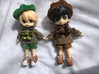 1 set artist style Suit clothes for Nendoroid Obitsu11 OB11 1/12 doll available for cu poche OB11 doll accessories doll clothes