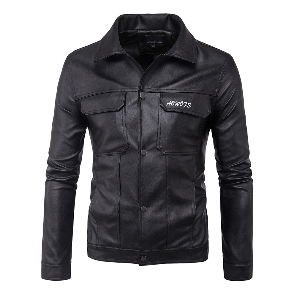 все цены на Herobiker Vintage Retro Motorcycle Jackets Men PU Leather Jacket Motorcycle Casual Biker Punk Classical Windproof Moto Jacket онлайн