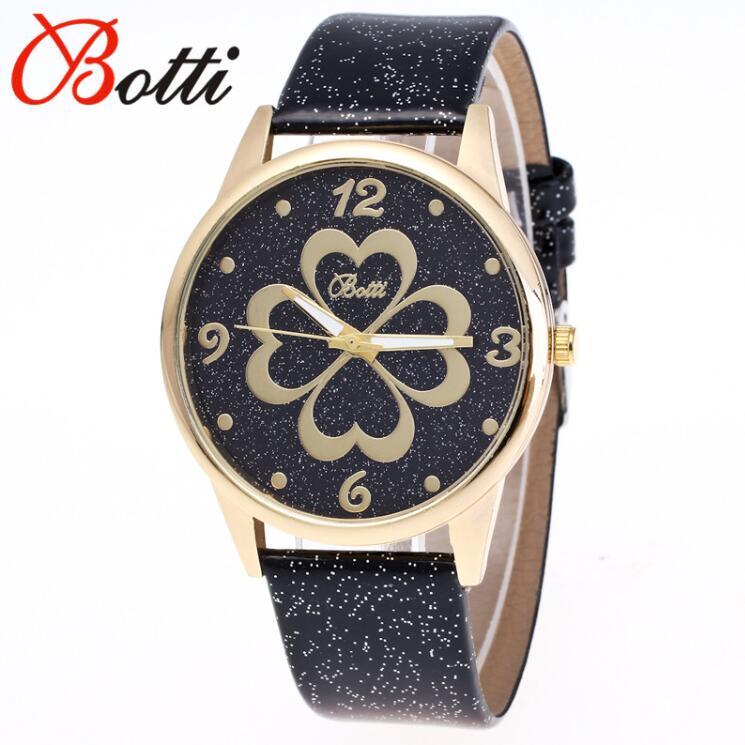 b98f13565c2 Nova Moda de Luxo Da Marca Ybotti Elegante Fina Dial Moda Casual Relógio De  Quartzo Das Mulheres Relógios com Pulseira de Couro Relogio feminino Quente