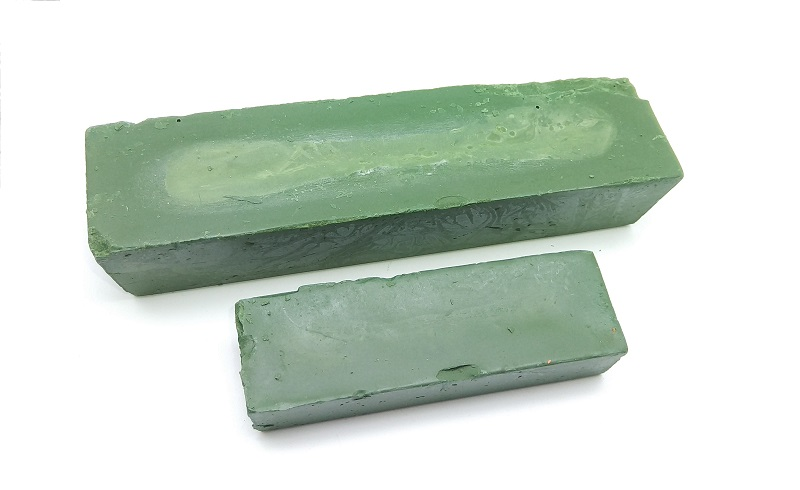 New 1Pcs Green Polishing Paste/Wax Polishing Compounds Abrasive Paste For High Lustre Finishing On Metals Durale Quality