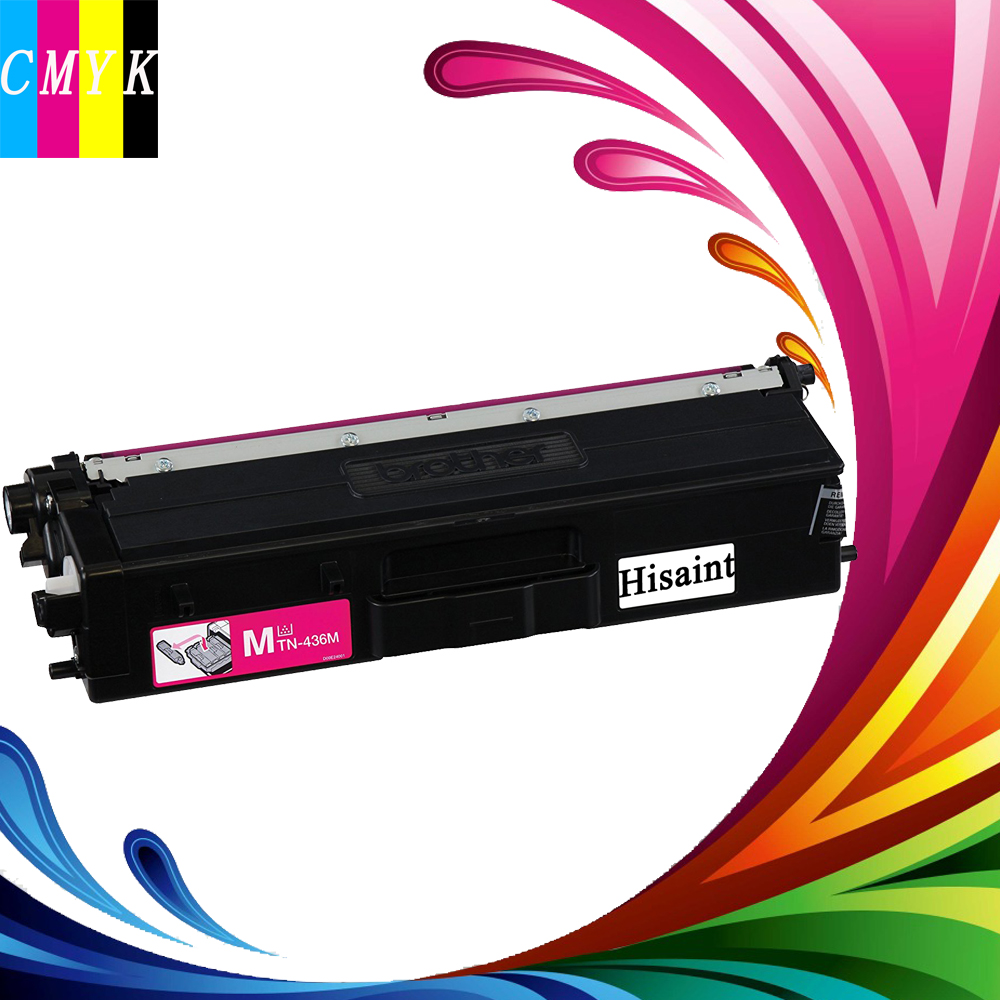 Hisaint Hot For Brother Printer TN436M Super High Yield Toner-Retail Packaging , Magenta Cheap printer Toner Cartridge. Original 8 500 page high yield toner cartridge for dell b2360 b2360d b2360dn b3460dn b3465dn b3465dnf laser printer compatible 2 pack page 1