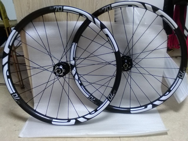 Cheap free shipping Carbon wheels mtb wheels bike wheels  26in wheel
