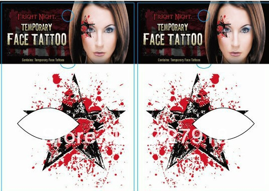 20pcs/lot Halloween makeup Eyeliner makeup paste stickers stage eye shadow  stick face pasted spirit -in Eye Shadow from Beauty & Health on  Aliexpress.com ...