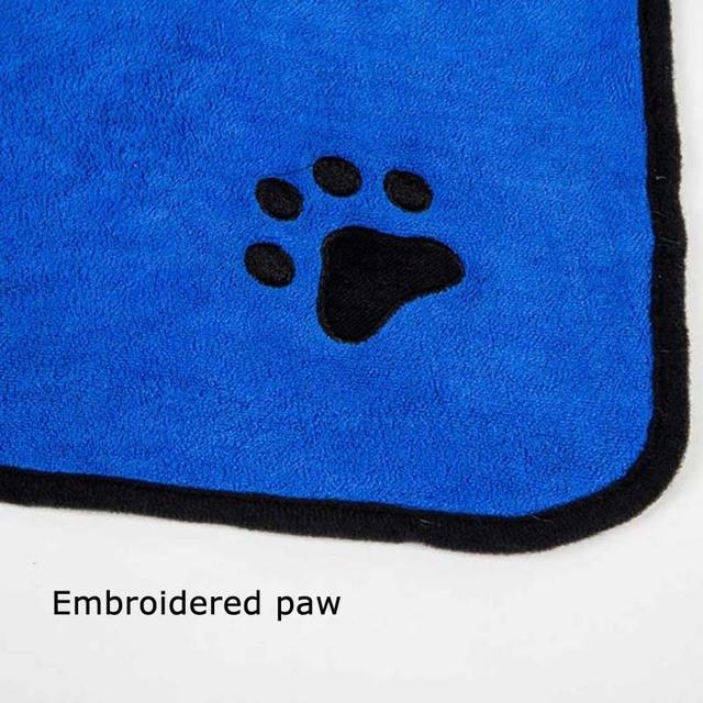 Absorbent Quick Dry Dog Bath Robe / Towel