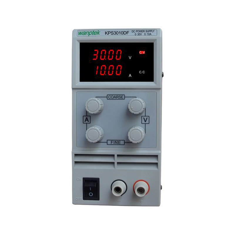 KPS3010DF 0-30V/0-10A 110V-230V 0.1V/0.001A EU LED Digital Adjustable Switch DC Power Supply mA display rps3020d 2 digital dc power adjustable power 30v 20a power supply linear power notebook maintenance