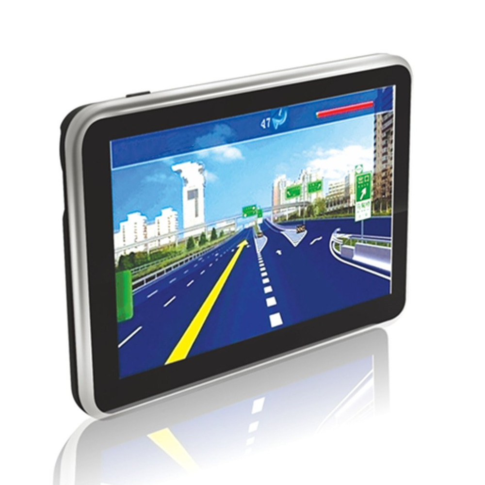 500 5 Inch High Definition Bluetooth GPS Navigator Portable Capacitive Touch Screen GPS Navigator For Car