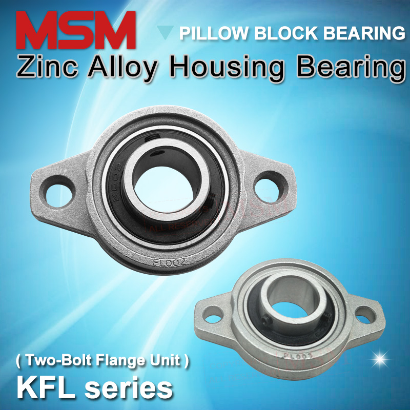 1 pcs 30mm KFL006 Pillow Block Bearing Flange Manufacturing Equipment