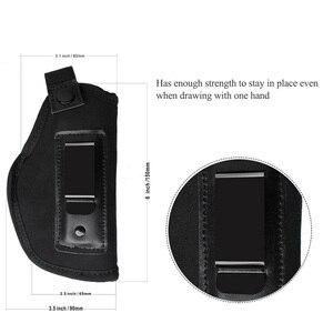 Image 5 - Tattica di Caccia Nylon Holster Neoprene Gun HolsterGLOCK 17 19 22 23 32 33 92 M9 pistola A Scomparsa Universale Fondine