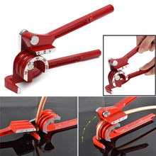 3 in 1 Suit 90°/180° Heavy Tubing Tube Pipe Bender Aluminum Copper Steel Fuel Brake Line Easy Hand Tools(China)