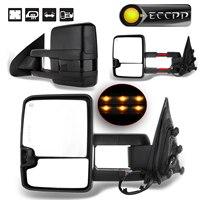 Eccpp Towing Mirror For 2014 2017 Chevy Silverado GMC Sierra 1500 2500 HD 3500 HD Pickup