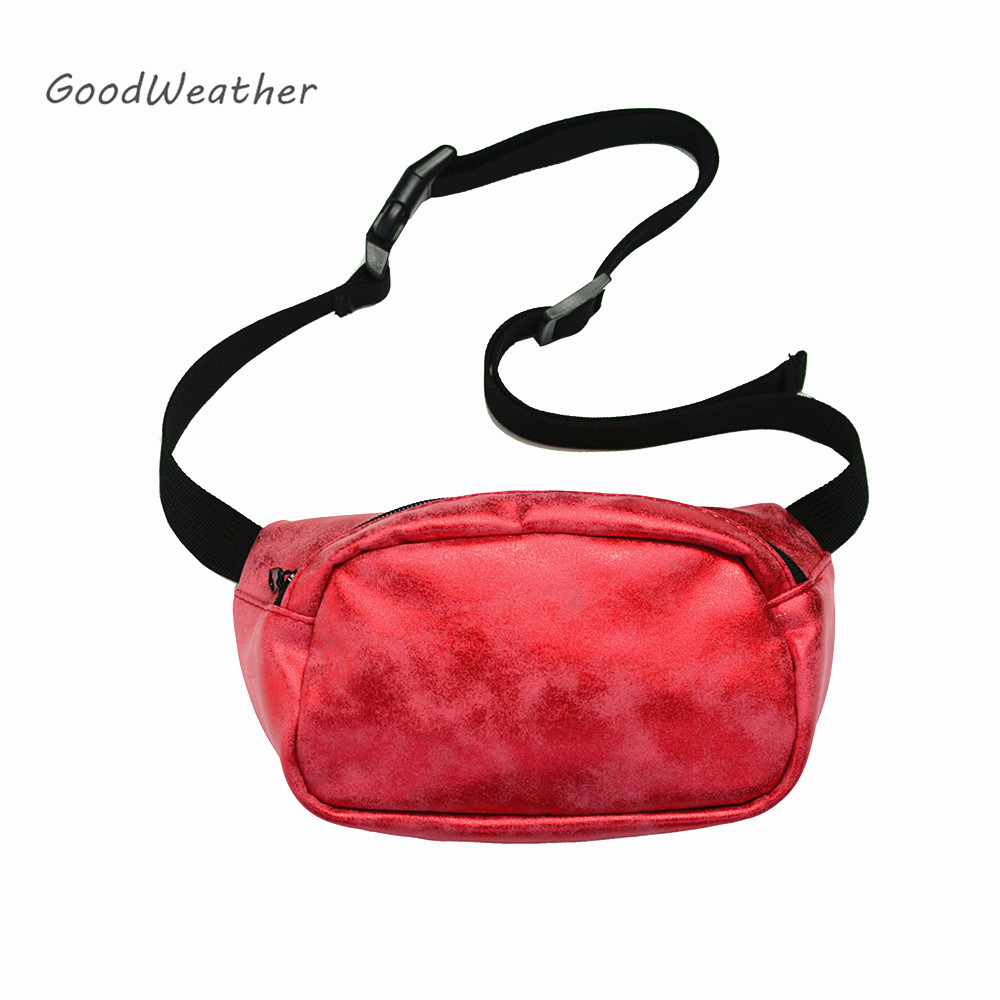 0552bc5ae489 US $8.56 25% OFF|Designer waist pack fashion bum bag for party pochete red  fanny packs female waist packs phone pouch-in Waist Packs from Luggage & ...