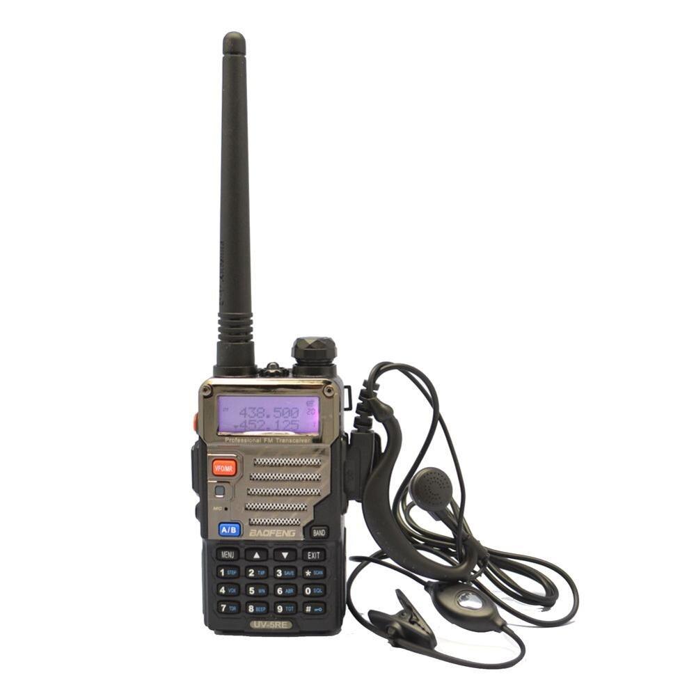 imágenes para LAS NUEVAS versiones UV-5RE Doble Banda UHF/VHF Radio de DOS VÍAS UV-5R + AURICULAR + RU STOCK