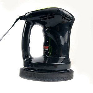 Image 4 - 12V 80W Mini Car Polisher Machine Waxing Polishing Car Paint Care Tool Polishing Machine Sander 150mm