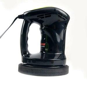 Image 4 - Mini máquina del pulidor de coche pulido y encerado, 12V, 80W, herramienta para el cuidado de la pintura del coche, lijadora de 150mm