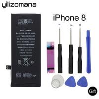 YILIZOMANA 1821mAh Original Mobile Phone Battery for iPhone8 iPhone 8 High Quality Original replacement Batteries Free Tools