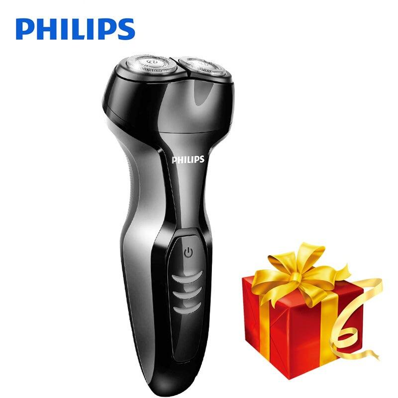 D'origine Philips S301 Électrique Rasoir Rotatif Lavable Fonction Soutien Rechargeable 100-240 V Tension Pour Hommes Rasoir Électrique