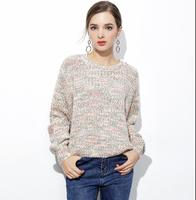 VANLED High Quality Cashmere Sweater Women Winter Pullover Solid Knitted Sweater Top For Women Autumn Female