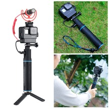 Pour Gopro Cage avec batterie dalimentation poignée de sport étui de caméra pour Gopro Hero 7 6 5, gopro7 accessoires de caméra Support de montage de trépied